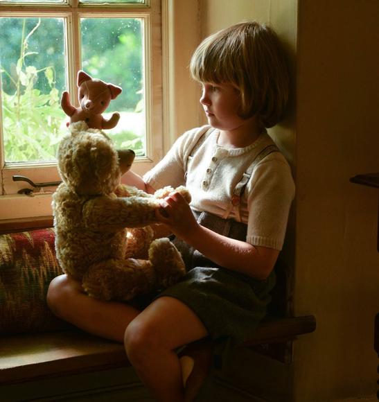 Christopher Robin and Edward Bear