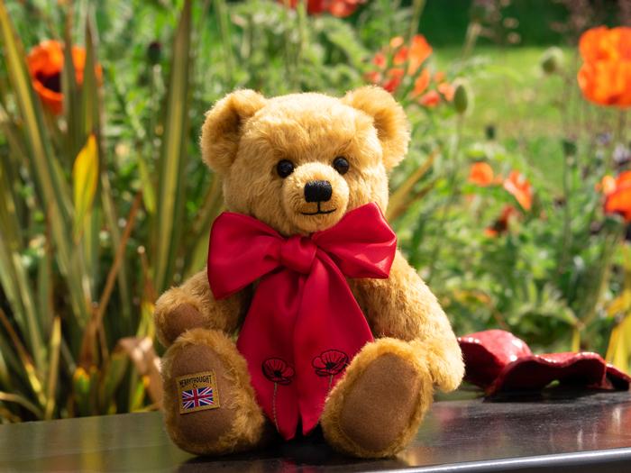 The Royal British Legion Centenary Poppy Bear