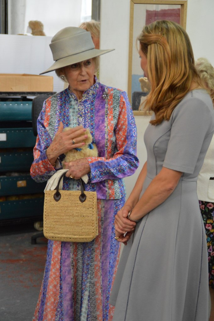 Princess Alexandra at Merrythought 2018