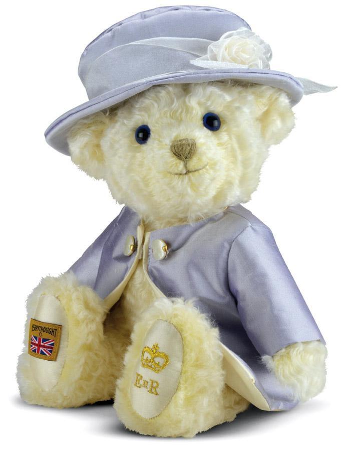Merrythought Queen Teddy Bear