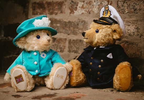 Queen Elizabeth and Prince Philip Bears
