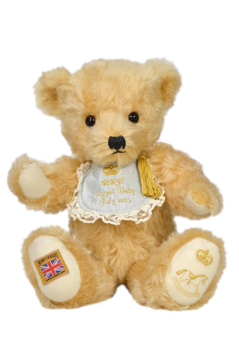 Merrythought Royal Baby Teddy Bear